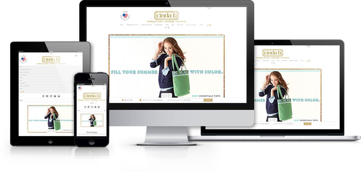 cinda b Case Study Responsive Web Design