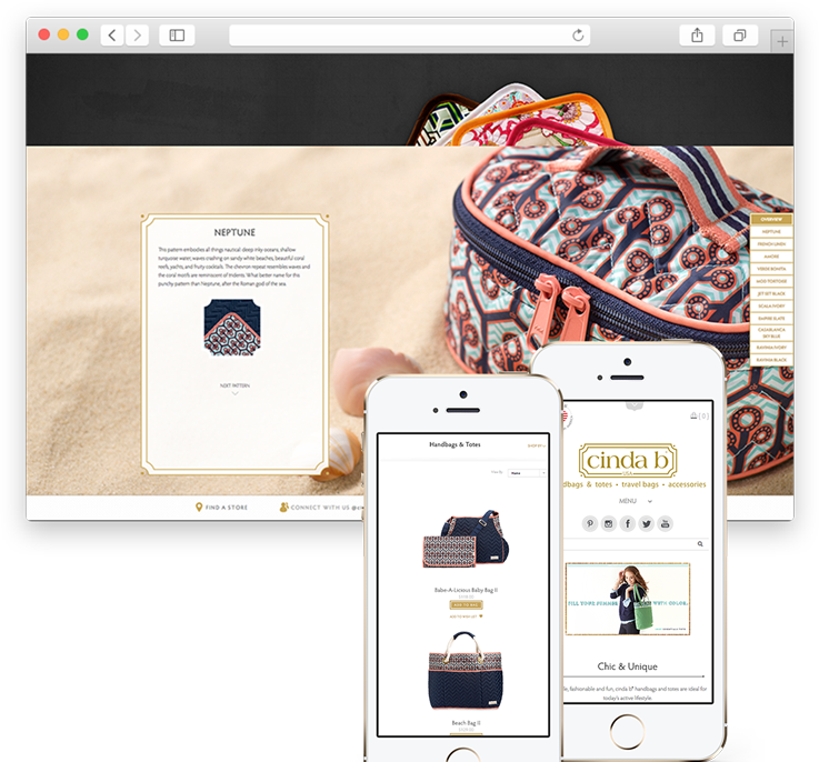 cinda b Case Study Seamless User Experience Across All Devices