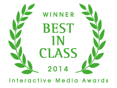 Interactive Media Awards Best in Class Winner