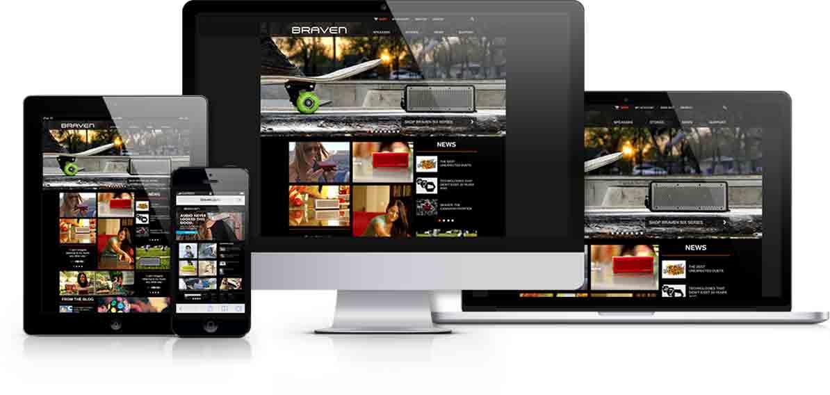 BRAVEN Case Study Responsive Web Design