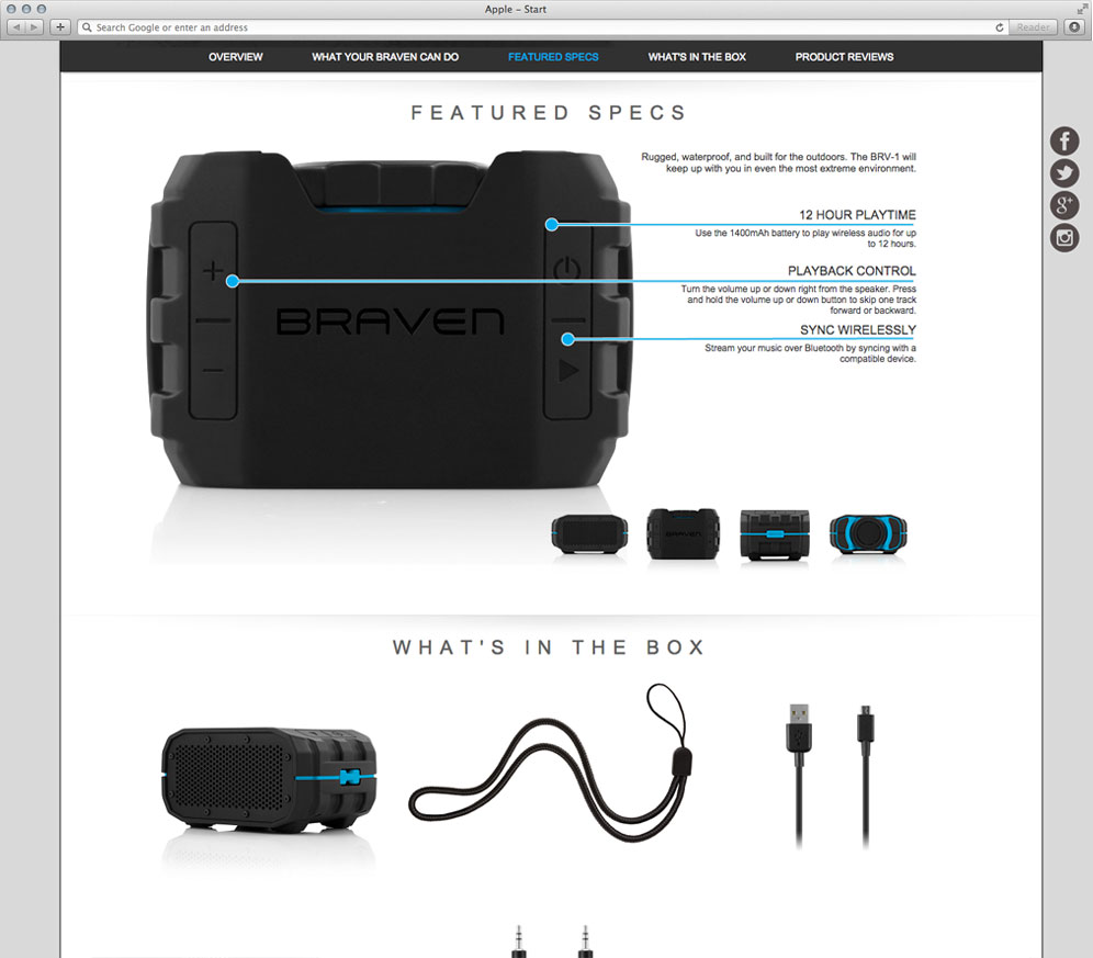 BRAVEN Case Study Custom Functionality