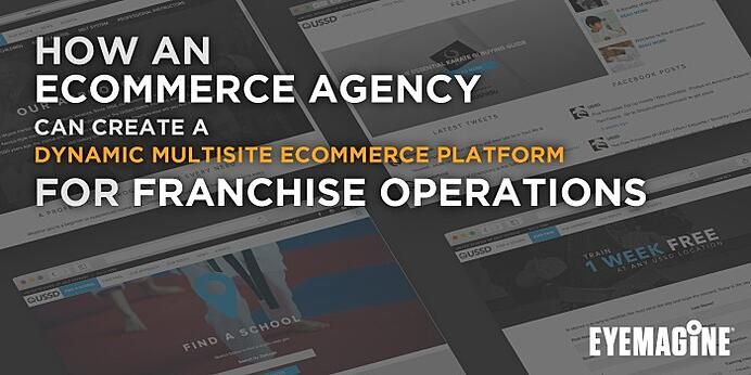 HOW AN ECOMMERCE AGENCY CAN CREATE MULTISITE ECOMMERCE  CONSISTENCY FOR FRANCHISE OPERATIONS