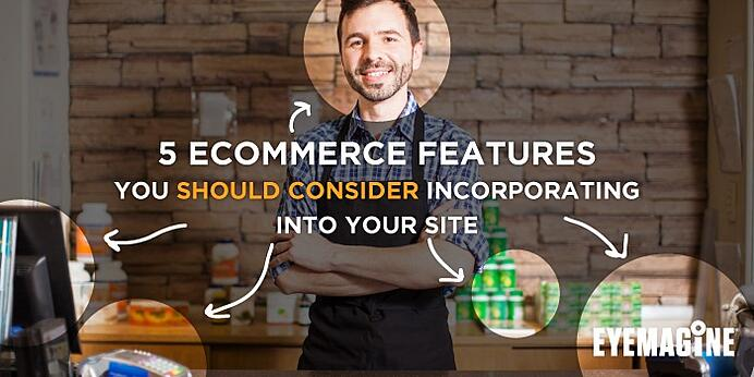 ecommerce marketing features