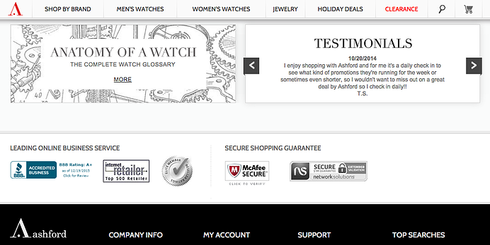 why is a seal of trust important on eCommerce sites
