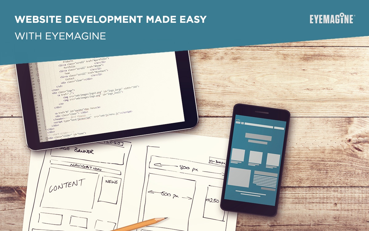Website Development Made Easy with EYEMAGINE