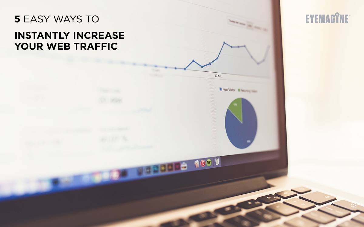 5 Easy Ways to Instantly Increase Your Web Traffic