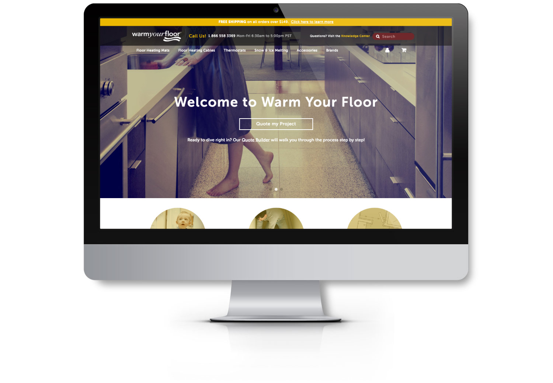 Warm Your Floor EYEMAGINE Case Study